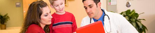 Консультация ребенка у врача